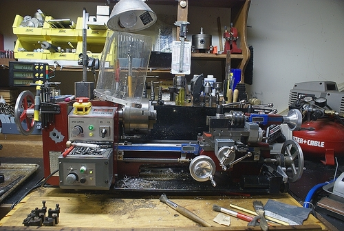 Lathe Machine Controller