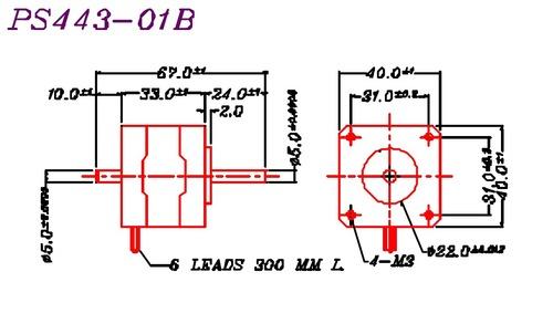 Mycom Stepper PS 443-01A (B)