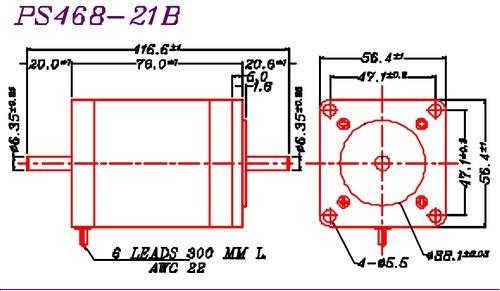 Mycom Stepper PS 468-21A (B)