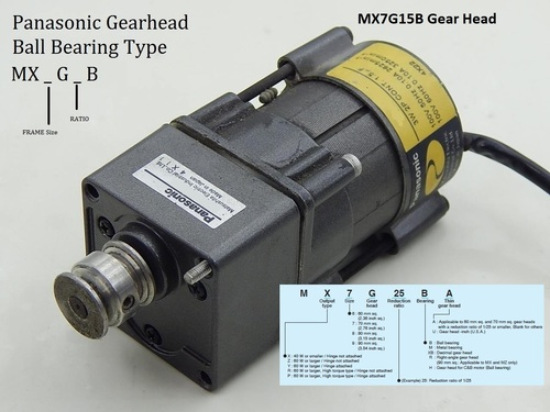 MX7G15B Panasonic
