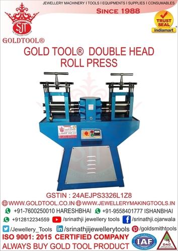 silver Wire & Sheet Rolling Mill  double head rolling machine