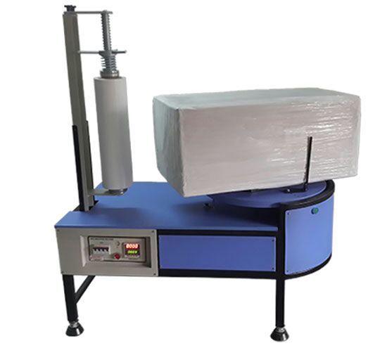 Semi Automatic Turntable Stretch Wrapper
