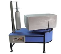 Economic Semi Automatic Turntable Pallet Wrapper