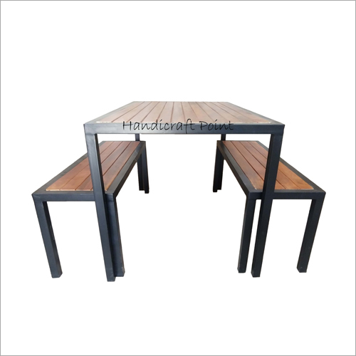 Restaurant Table With Bench