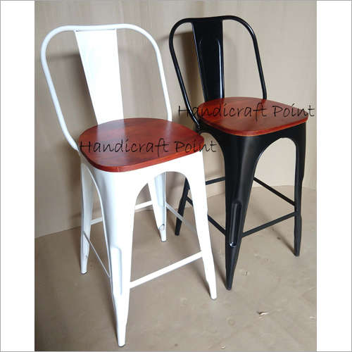 Indian Tolix Bar Chair