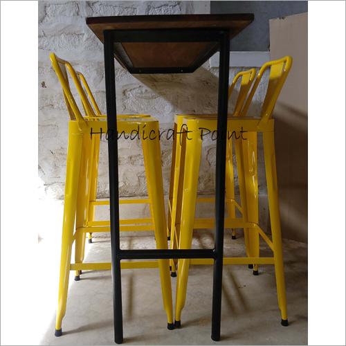 Bar Chair And Table Set