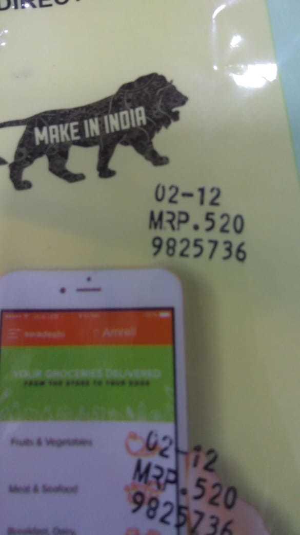Date Coding Ribbon Code Expire Date Batch Coding Machine for Plastic and Aluminium Foil Bags