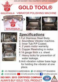 jewelry polishing machine  Steel Body Vibrator Machine
