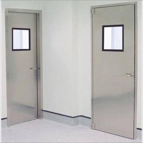 Stainless Steel Swing Hospital Door