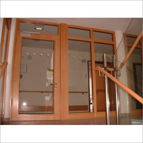 Fire Glass Door